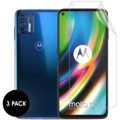 iMoshion Protection d'écran Film 3 pack Motorola Moto G9 Plus