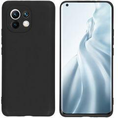 iMoshion Coque Color Xiaomi Mi 11 - Noir