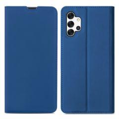 iMoshion Étui de téléphone Slim Folio Galaxy A32 (5G) - Bleu foncé