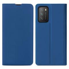 iMoshion Étui de téléphone Slim Folio Xiaomi Poco M3 - Bleu Foncé