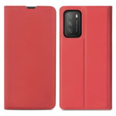 iMoshion Étui de téléphone Slim Folio Xiaomi Poco M3 - Rouge