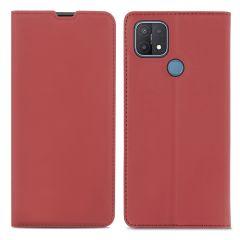 iMoshion Étui de téléphone Slim Folio Oppo A15 - Rouge