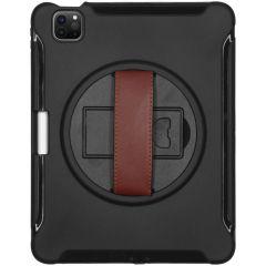 Coque Defender avec sangle iPad Air (2020) - Noir
