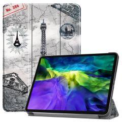 iMoshion Étui à rabat Design Trifold iPad Pro 11 (2020-2018)