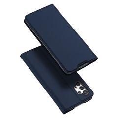 Dux Ducis Étui de téléphone Slim Samsung Galaxy A32 (4G) - Bleu foncé