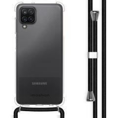 iMoshion Coque avec cordon Samsung Galaxy A12 - Noir