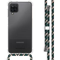 iMoshion Coque avec cordon Samsung Galaxy A12 - Vert