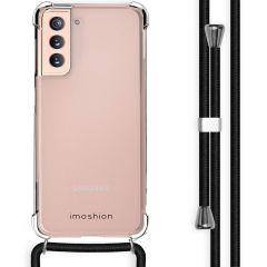 iMoshion Coque avec cordon Samsung Galaxy S21 - Noir