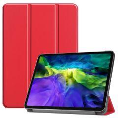 iMoshion Étui de tablette Trifold iPad Pro 11 (2020-2018) - Rouge