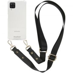 iMoshion Coque avec dragonne Samsung Galaxy A12 - Transparent