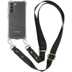 iMoshion Coque avec dragonne Samsung Galaxy S21 - Transparent