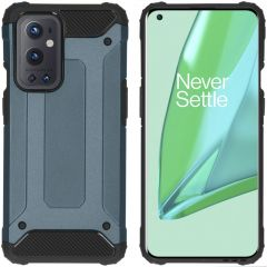 iMoshion Coque Rugged Xtreme OnePlus 9 Pro - Bleu foncé