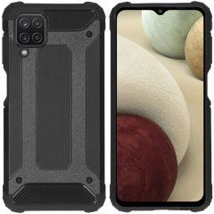 iMoshion Coque Rugged Xtreme Samsung Galaxy A12 - Noir