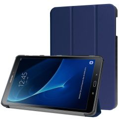iMoshion Étui de tablette Trifold Galaxy Tab A 10.1 (2016) - Bleu
