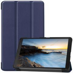 iMoshion Étui de tablette Trifold Galaxy Tab A 8.0 (2019) - Bleu