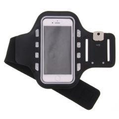 Bracelet de sport Taille Samsung Galaxy A22 (5G) - Noir