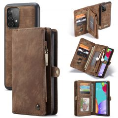 CaseMe Etui de téléphone de luxe en cuir 2en1 Galaxy A52(s) (5G/4G)