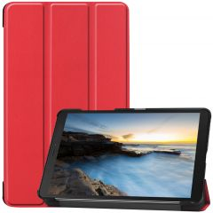 iMoshion Étui de tablette Trifold Galaxy Tab A 8.0 (2019) - Rouge