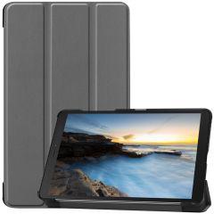 iMoshion Étui de tablette Trifold Galaxy Tab A 8.0 (2019) - Gris