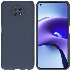 iMoshion Coque Color Xiaomi Redmi Note 9T (5G) - Bleu foncé