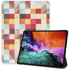 iMoshion Étui à rabat Design Trifold iPad Pro 12.9 (2020-2018)