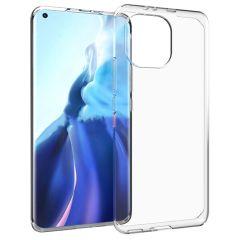 Accezz Coque Clear Xiaomi Mi 11 - Transparent