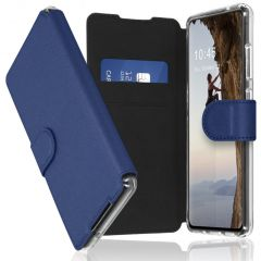 Accezz Étui de téléphone Xtreme Wallet Galaxy A72 - Bleu foncé