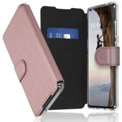 Accezz Étui de téléphone Xtreme Wallet Samsung Galaxy A72 - Rose