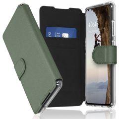 Accezz Étui de téléphone Xtreme Wallet Galaxy A72 - Vert clair