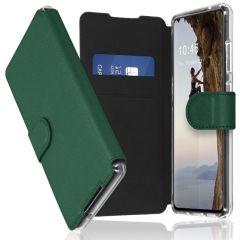 Accezz Étui de téléphone Xtreme Wallet Galaxy A72 - Vert foncé