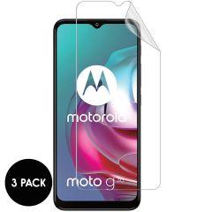 iMoshion Protection d'écran Film 3pack Motorola Moto G30 / G20 / G10 (Power) / E7i Power