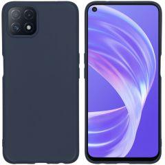 iMoshion Coque Color Oppo A73 (5G) - Bleu foncé