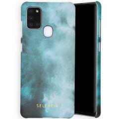 Selencia Coque Maya Fashion Samsung Galaxy A21s - Air Blue
