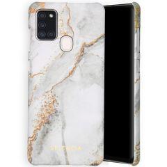 Selencia Coque Maya Fashion Samsung Galaxy A21s - Marble Stone