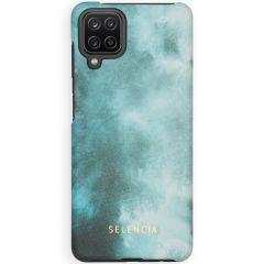 Selencia Coque Maya Fashion Samsung Galaxy A12 - Air Blue