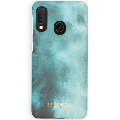 Selencia Coque Maya Fashion Samsung Galaxy A20e - Air Blue