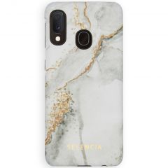 Selencia Coque Maya Fashion Samsung Galaxy A20e - Marble Stone