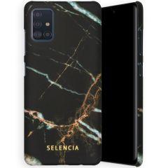 Selencia Coque Maya Fashion Samsung Galaxy A51 - Marble Black