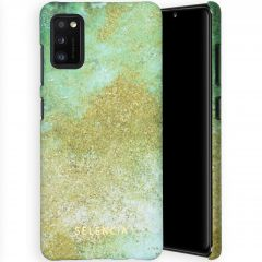 Selencia Coque Maya Fashion Samsung Galaxy A41 - Green Nature