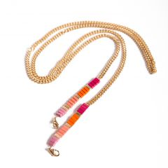 My Jewellery Cordon pour coque à cordon My Jewellery - Rose / Dorée