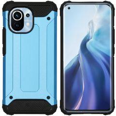iMoshion Coque Rugged Xtreme Xiaomi Mi 11 - Bleu clair