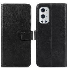 iMoshion Étui de téléphone portefeuille Luxe OnePlus 9 Pro - Noir