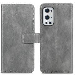 iMoshion Étui de téléphone portefeuille Luxe OnePlus 9 Pro - Gris