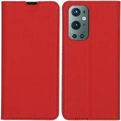 iMoshion Étui de téléphone Slim Folio OnePlus 9 Pro - Rouge