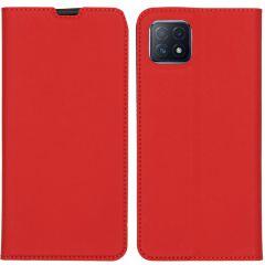 iMoshion Étui de téléphone Slim Folio Oppo A73 (5G) - Rouge