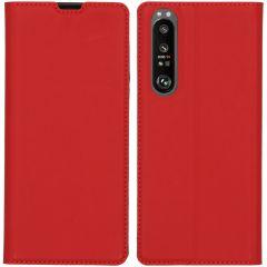 iMoshion Étui de téléphone Slim Folio Sony Xperia 1 III - Rouge