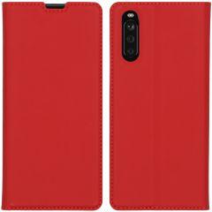 iMoshion Étui de téléphone Slim Folio Sony Xperia 10 III - Rouge