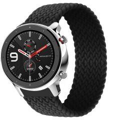 iMoshion Bracelet en nylon tressé Amazfit GTR - Noir