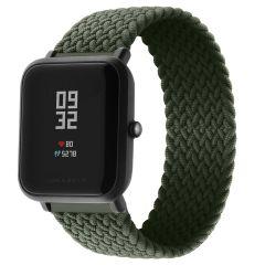 iMoshion Bracelet en nylon tressé Amazfit GTS / BIP - Vert foncé