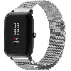 iMoshion Milanais Watch bracelet Amazfit GTS / BIP - Argent